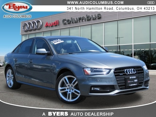 Certified Pre-Owned Audi 2016 Audi A4 2.0T Premium Sedan in Columbus, OH