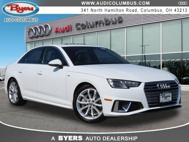 New 2019 Audi A4 2.0T Premium Sedan for Sale in Columbus, OH