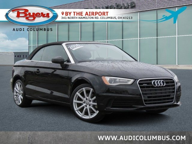 Certified Pre-Owned Audi 2016 Audi A3 2.0T Premium Cabriolet in Columbus, OH