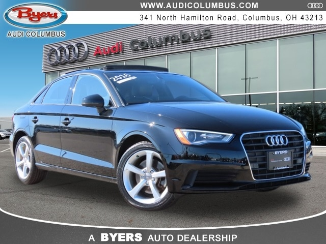 Used 2016 Audi A3 1.8T Premium Sedan in Columbus OH at Audi Columbus