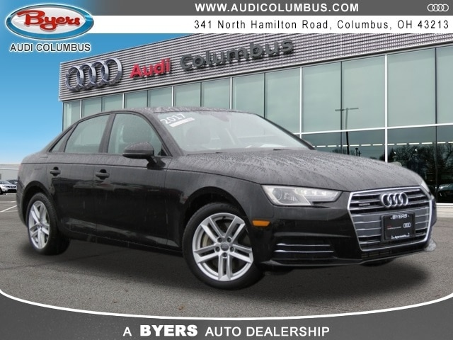 Certified Pre-Owned Audi 2017 Audi A4 2.0T Premium Sedan in Columbus, OH