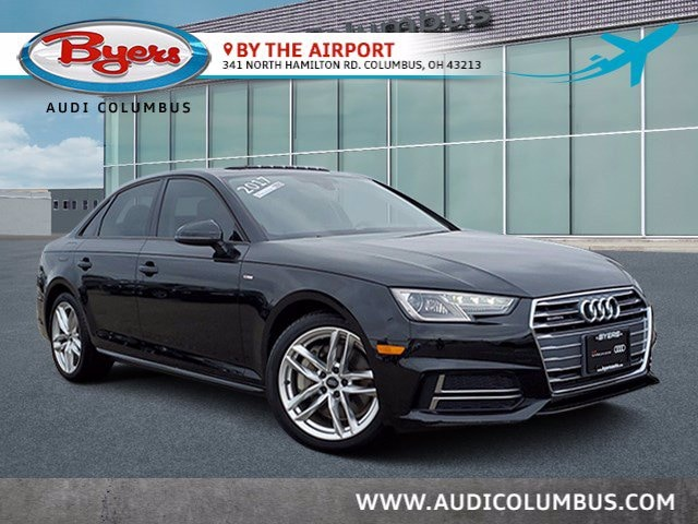 Certified Pre-Owned Audi 2017 Audi A4 Season of Audi Premium Sedan in Columbus, OH