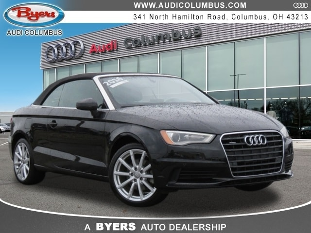 Used 2016 Audi A3 2.0T Premium Plus Cabriolet in Columbus OH at Audi Columbus