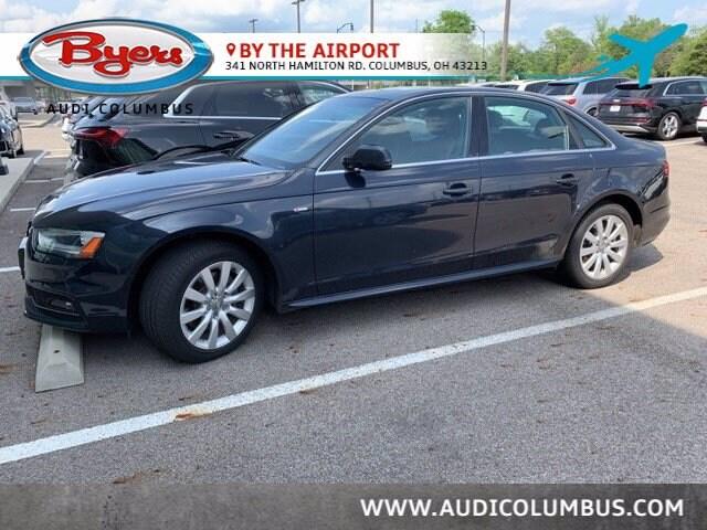 Used 2015 Audi A4 Premium Sedan in Columbus OH at Audi Columbus