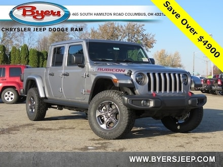 Featured New 2020 Jeep Gladiator RUBICON 4X4 Crew Cab for sale in Columbus OH