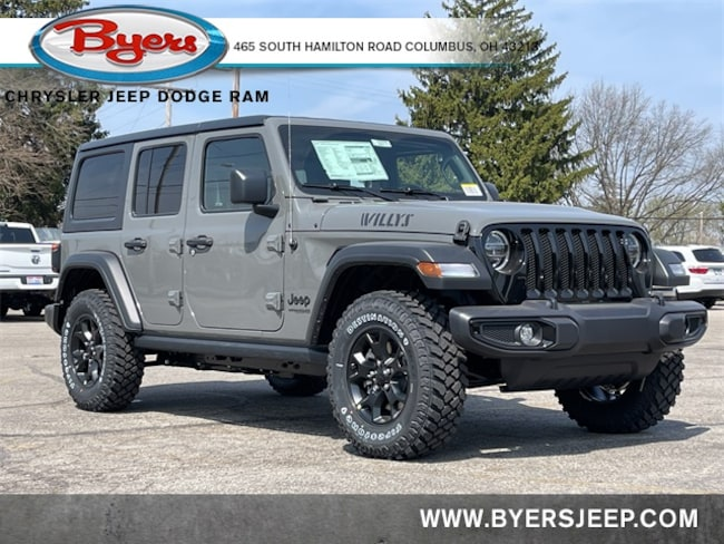 New 2021 Jeep Wrangler UNLIMITED WILLYS 4X4 Sport Utility in Columbus