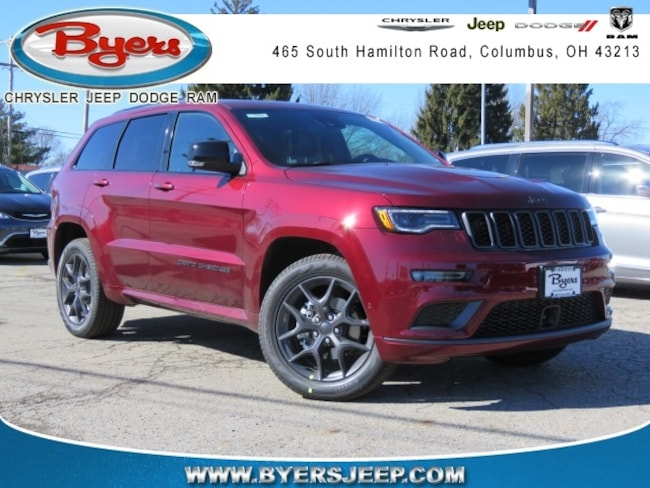 New 2019 Jeep Grand Cherokee LIMITED X 4X4 Sport Utility in Columbus