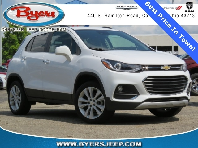 Used 2017 Chevrolet Trax Premier For Sale in Columbus OH