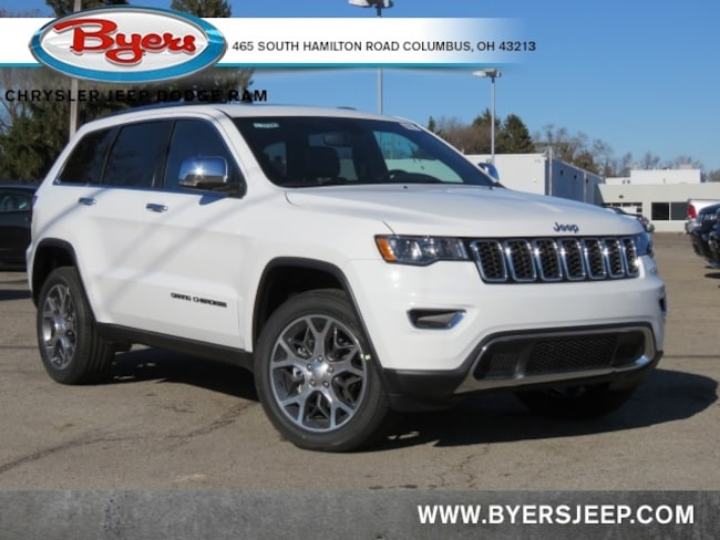 New 2020 Jeep Grand Cherokee LIMITED 4X4 Sport Utility in Columbus