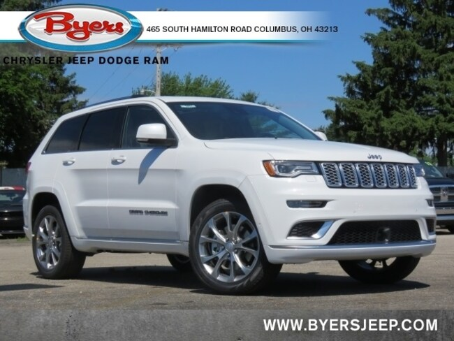 New 2020 Jeep Grand Cherokee SUMMIT 4X4 Sport Utility in Columbus