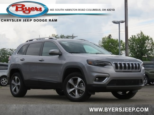 New 2020 Jeep Cherokee LIMITED 4X4 Sport Utility in Columbus