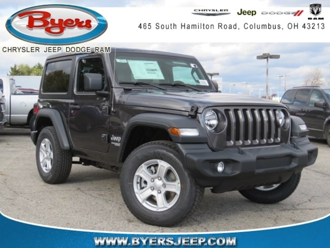 New 2018 Jeep Wrangler SPORT S 4X4 Sport Utility in Columbus