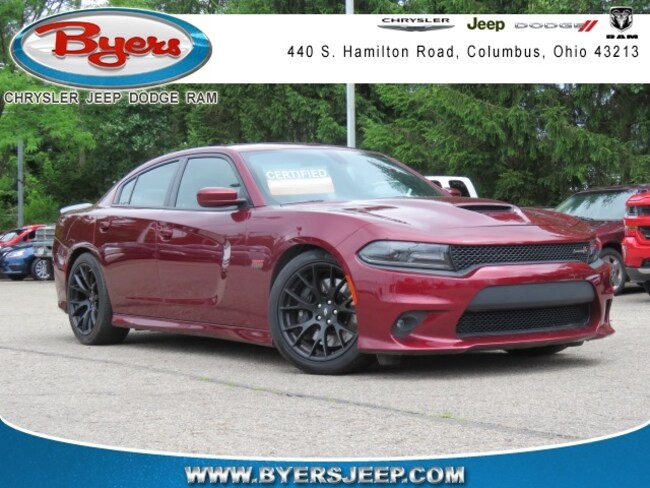Certified Pre-owned 2018 Dodge Charger R/T 392 Sedan for sale in Columbus, OH