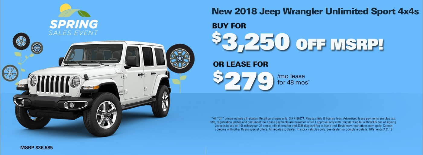 Byers Chrysler Jeep Dodge Ram new 2018-2019 & used cars ...