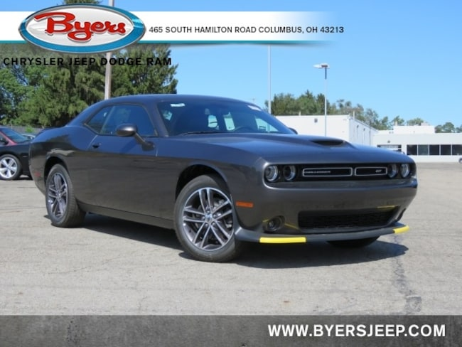New 2019 Dodge Challenger GT AWD Coupe in Columbus