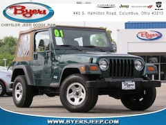 Used Vehicles for sale 2001 Jeep Wrangler Sport SUV in Columbus, OH