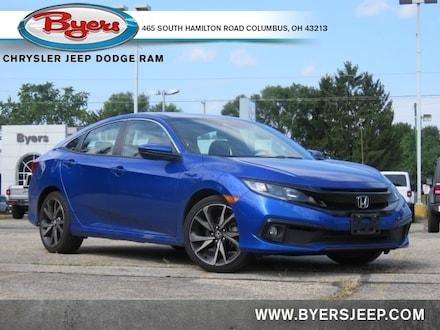 Featured Used 2019 Honda Civic Sport Sedan for sale in Columbus OH