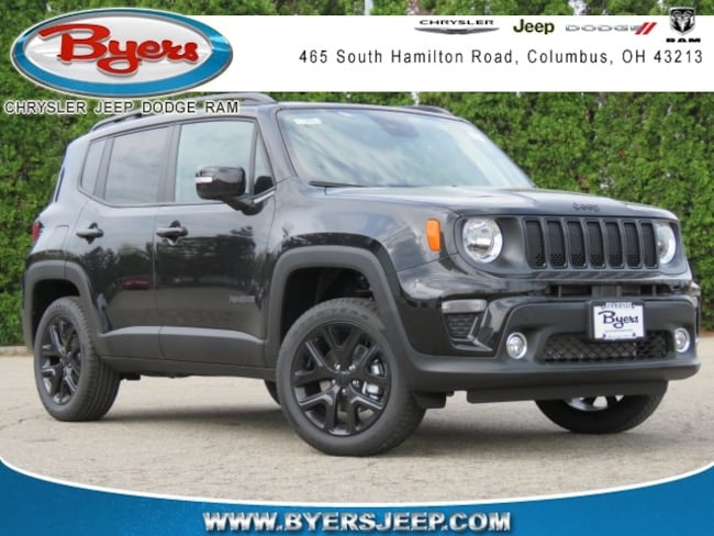 New 2019 Jeep Renegade ALTITUDE 4X4 Sport Utility in Columbus