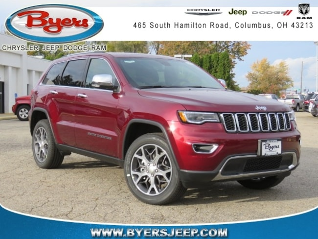 New 2019 Jeep Grand Cherokee LIMITED 4X4 Sport Utility in Columbus