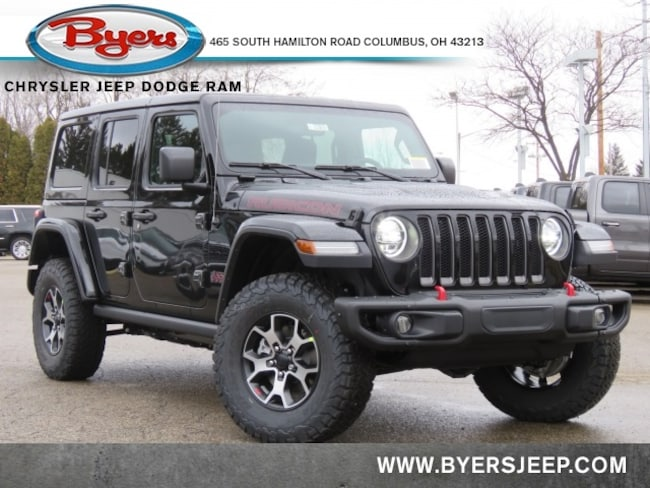 New 2020 Jeep Wrangler UNLIMITED RUBICON 4X4 Sport Utility in Columbus