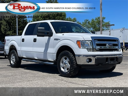 Featured Used 2014 Ford F-150 Truck SuperCrew Cab for sale in Columbus OH