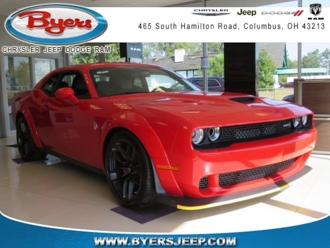 New 2018 Dodge Challenger SRT HELLCAT WIDEBODY Coupe in Columbus