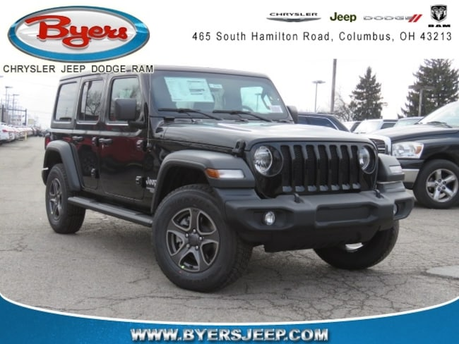 New 2018 Jeep Wrangler UNLIMITED SPORT S 4X4 Sport Utility in Columbus