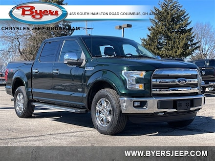Featured 2016 Ford F-150 Truck SuperCrew Cab for sale in Columbus OH