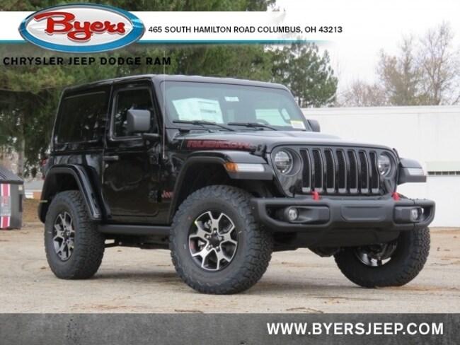 New 2021 Jeep Wrangler RUBICON 4X4 Sport Utility in Columbus