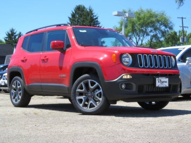 New 2018 Jeep Renegade LATITUDE 4X4 Sport Utility in Columbus