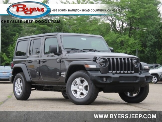 New 2020 Jeep Wrangler UNLIMITED SPORT S 4X4 Sport Utility in Columbus