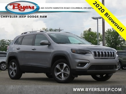 Featured New 2020 Jeep Cherokee LIMITED 4X4 Sport Utility for sale in Columbus OH