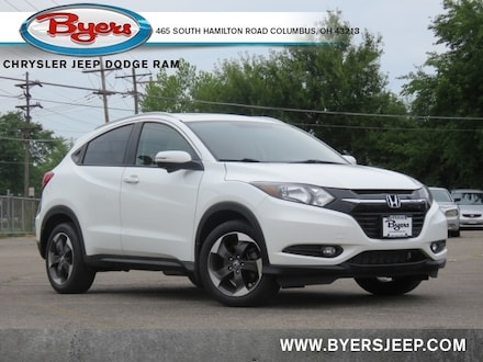 Featured Used 2018 Honda HR-V EX-L w/Navigation AWD SUV for sale in Columbus OH