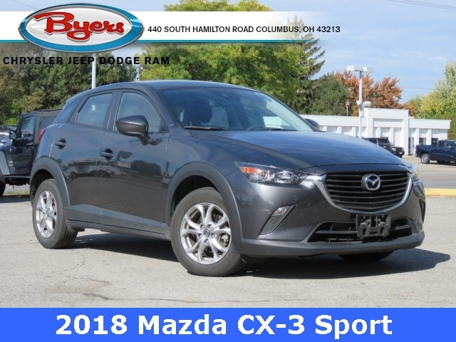 Featured Used 2018 Mazda Mazda CX-3 Sport SUV for sale in Columbus OH