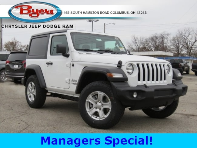 New 2019 Jeep Wrangler SPORT S 4X4 Sport Utility in Columbus