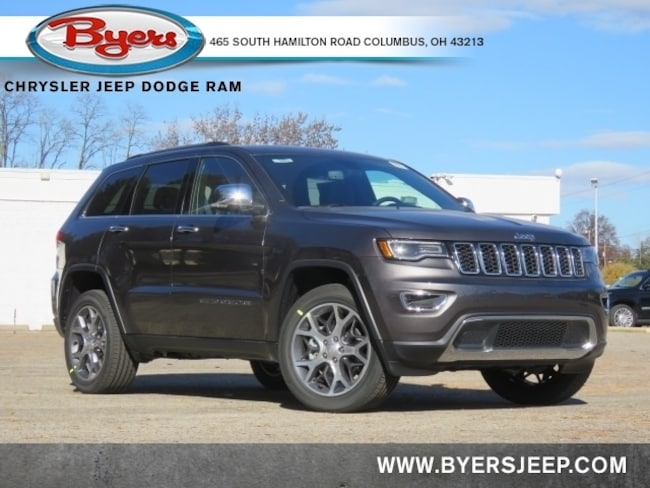New 2021 Jeep Grand Cherokee LIMITED 4X4 Sport Utility in Columbus