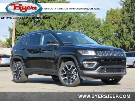 Featured New 2021 Jeep Compass LIMITED 4X4 Sport Utility for sale in Columbus OH