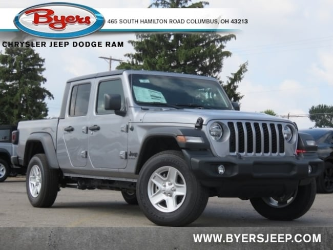 New 2020 Jeep Gladiator SPORT S 4X4 Crew Cab in Columbus
