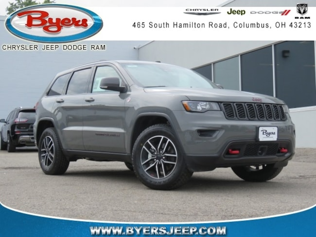 New 2019 Jeep Grand Cherokee TRAILHAWK 4X4 Sport Utility in Columbus