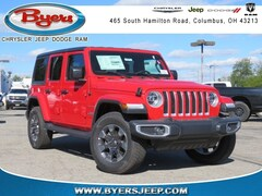 New 2018 Jeep Wrangler UNLIMITED SAHARA 4X4 Sport Utility for sale in Columbus, OH