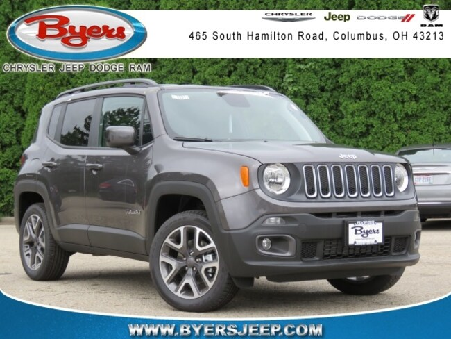New 2018 Jeep Renegade LATITUDE 4X4 Sport Utility in Columbus