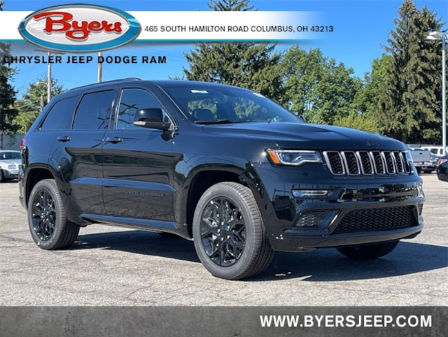 New 2021 Jeep Grand Cherokee LIMITED X 4X4 Sport Utility in Columbus
