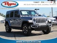 New Chrysler Jeep Dodge Ram models 2018 Jeep Wrangler UNLIMITED SAHARA 4X4 Sport Utility for sale in Columbus, OH