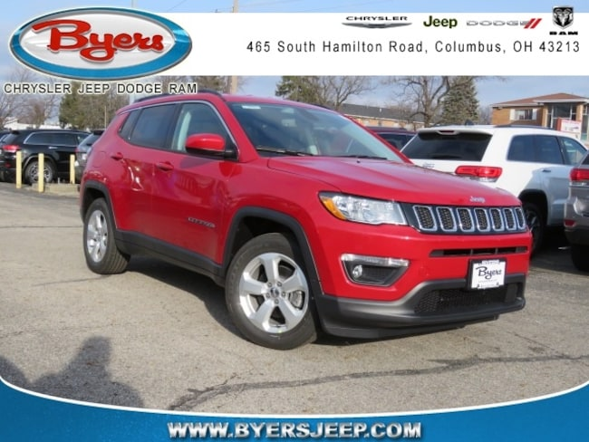 New 2019 Jeep Compass LATITUDE FWD Sport Utility in Columbus
