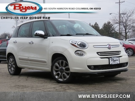 Featured Used 2015 FIAT 500L Lounge Hatchback for sale in Columbus OH