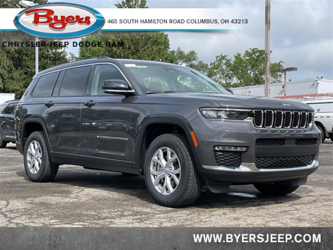 New 2021 Jeep Grand Cherokee L LIMITED 4X4 Sport Utility in Columbus