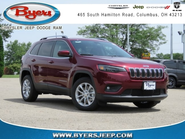 New 2019 Jeep Cherokee LATITUDE FWD Sport Utility in Columbus