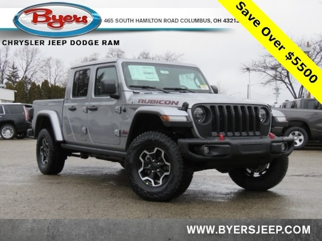 New 2020 Jeep Gladiator RUBICON 4X4 Crew Cab in Columbus
