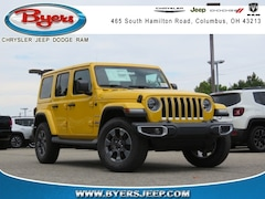 2018 Jeep Wrangler UNLIMITED SAHARA 4X4 Sport Utility for sale in Columbus OH