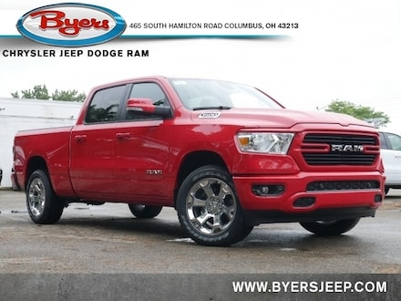 Featured New 2020 Ram 1500 BIG HORN CREW CAB 4X4 6'4 BOX Crew Cab for sale in Columbus OH